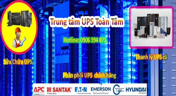 Dịch vụ sửa chữa UPS tại TPHCM và toàn quốc