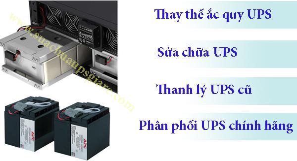 Tìm hiểu ắc quy bộ lưu điện UPS - Dịch vụ thay thế ắc quy