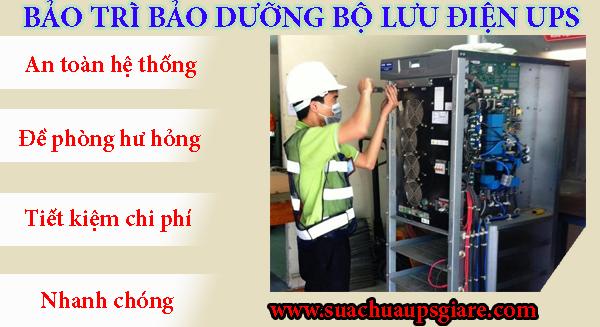 Bảo trì bảo dưỡng bộ lưu điện (UPS) - Hotline 0906 394 871