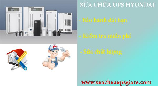 Sửa chữa bộ lưu điện UPS Hyundai