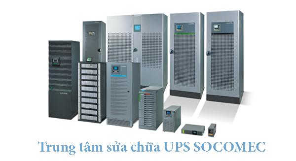 Sửa chữa UPS bộ lưu điện Socomec