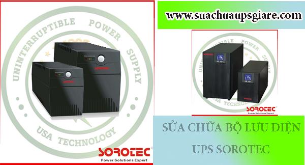 Sửa chữa UPS Sorotec chất lượng tận nơi