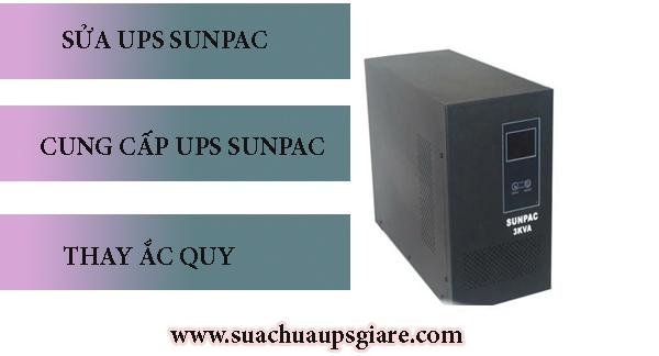 Dịch vụ sửa chữa UPS Sunpac