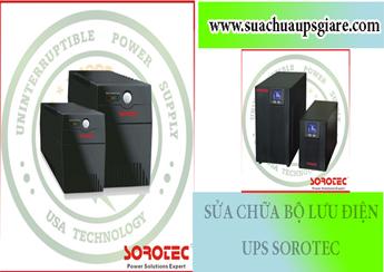 Sửa chữa bộ lưu điện UPS Sorotec